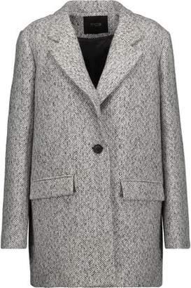 Maje Herringbone Woven Jacket