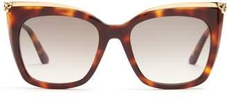 Cartier EYEWEAR Panthère de acetate sunglasses