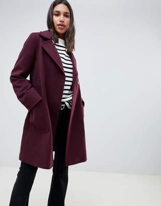 Asos DESIGN twill smart coat
