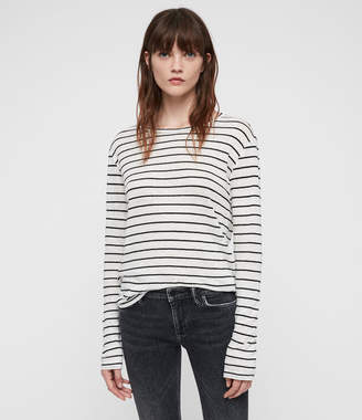 AllSaints Esme Breton Stripe T-Shirt
