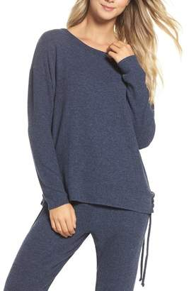 Chaser Lace-Up Side Pullover