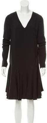 Chloé Long Sleeve Flounce Dress w/ Tags