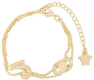 Versace double stranded bracelet