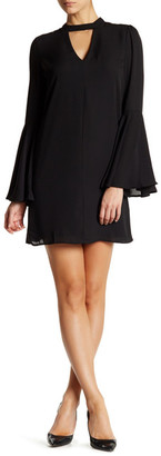 Soprano Long Bell Sleeve Dress $26.97 thestylecure.com