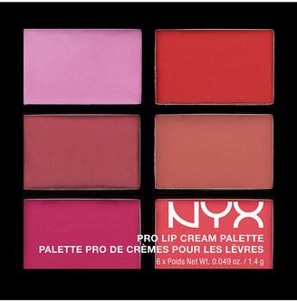 Nyx Cosmetics Pro lip cream palette $10.50 thestylecure.com