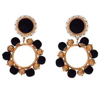 Dolce & Gabbana Black Metal Earrings