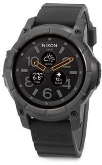 Nixon Mission Polycarbonate& Silicone Strap Touchscreen Smartwatch