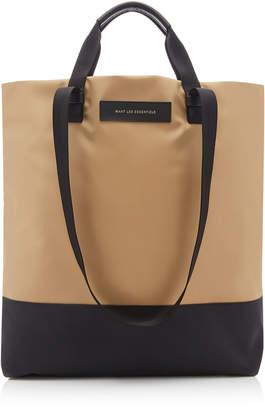 WANT Les Essentiels Dayton Leather-Trimmed Shell Shopper Tote