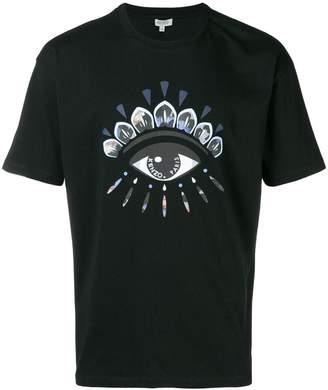 Kenzo Indonesian Flower Eye T-shirt