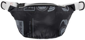 Miharayasuhiro Black Trash Bag West Belt Bag
