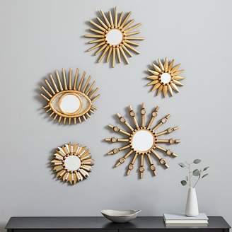west elm Peruvian Starburst Mirrors