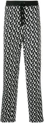 Ports V printed sweatpants