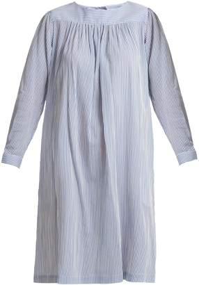 A.P.C. Cassie long-sleeve striped dress