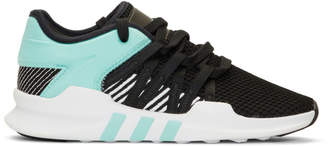 adidas Black and Blue EQT Racing Adv Sneakers