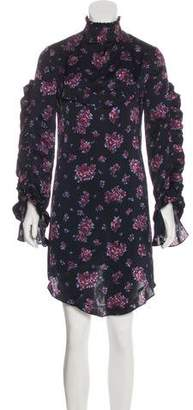 Magda Butrym Floral Long Sleeve Dress