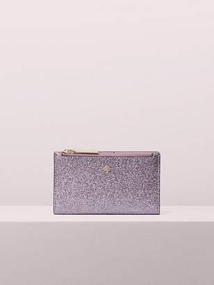 Kate Spade Burgess Court Small Slim Bifold Wallet, Lilac