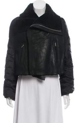Rick Owens 2017 Glitter Leather Jacket