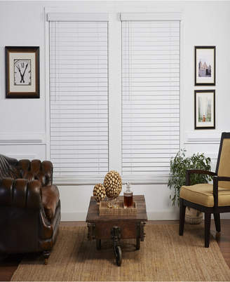 The Cordless Collection 2 in. Cordless Faux Wood Venetian Blind, 42x48