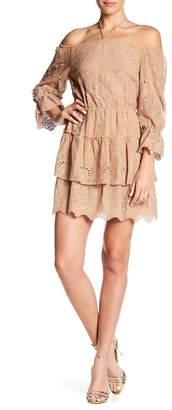 Alice + Olivia Waylon Crochet Dress