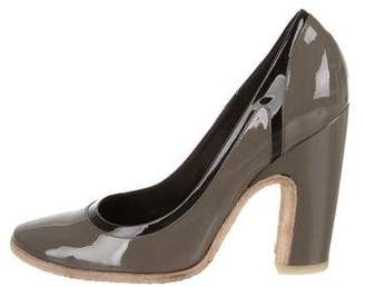 Roger Vivier Patent Leather Pointed-Toe Pumps