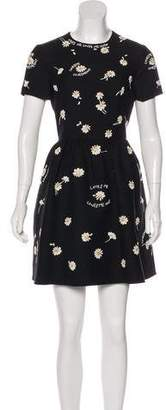 Valentino Embellished Wool Dress w/ Tags