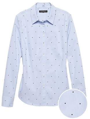 Banana Republic Riley Tailored-Fit Star Print Shirt