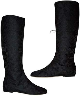Dolce & Gabbana Cloth riding boots