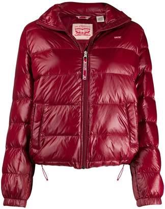 Levi's Francine high-neck puffer jacket