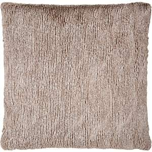 Aviva Stanoff Faux Fur Pillow - Lt. brown