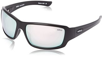 Revo Bearing RE 4057 01 ST Polarized Rectangular Sunglasses, Matte Black Stealth, 64 mm $189 thestylecure.com