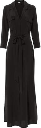 L'Agence Cameron Black Shirtdress