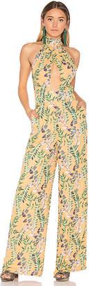 House of Harlow 1960 x REVOLVE Karen Jumpsuit in Orange $178 thestylecure.com