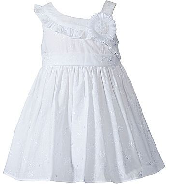 Youngland Woven Spring Dress - Girls 2t-5t