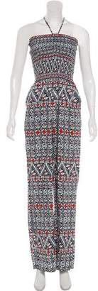 Tory Burch Abstract Print Jumpsuit w/ Tags