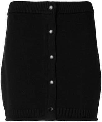 Alexander Wang knitted mini skirt