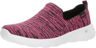 Skechers Women's GO Walk Joy - Nirvana Walking Shoes, Black/Grey