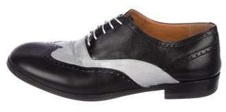Maison Margiela Leather Brogue Oxfords