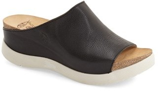 Women's Fly London 'Wigg' Platform Wedge Slide Sandal $189.95 thestylecure.com