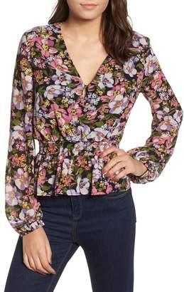 WAYF Beth Floral Top