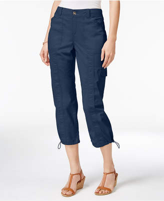 Style&Co. Style & Co Cargo Capri Pants in Regular & Petite Sizes