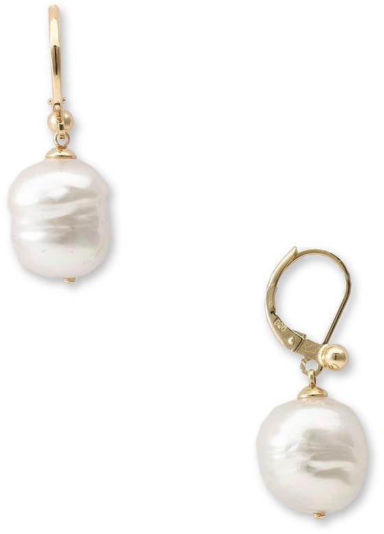 Majorica 'Baroque' 12mm Pearl Earrings