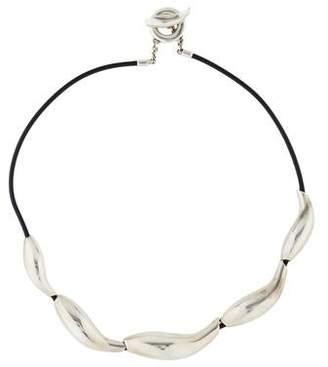 Tiffany & Co. Fish Cord Necklace