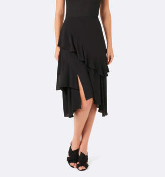 Forever New Tara Tiered Ruffle Midi Skirt