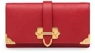 Prada Cahier Saffiano mini cross-body bag