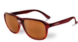 Vuarnet 03 Acetate Pilot Polarized Sunglasses, Brown