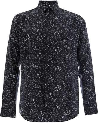 Saint Laurent foliage print shirt
