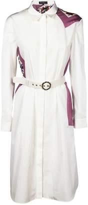 Salvatore Ferragamo Belted Shirt Dress