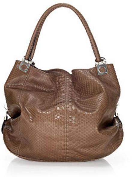 Tanner Krolle Sudie Python Convertible Bag