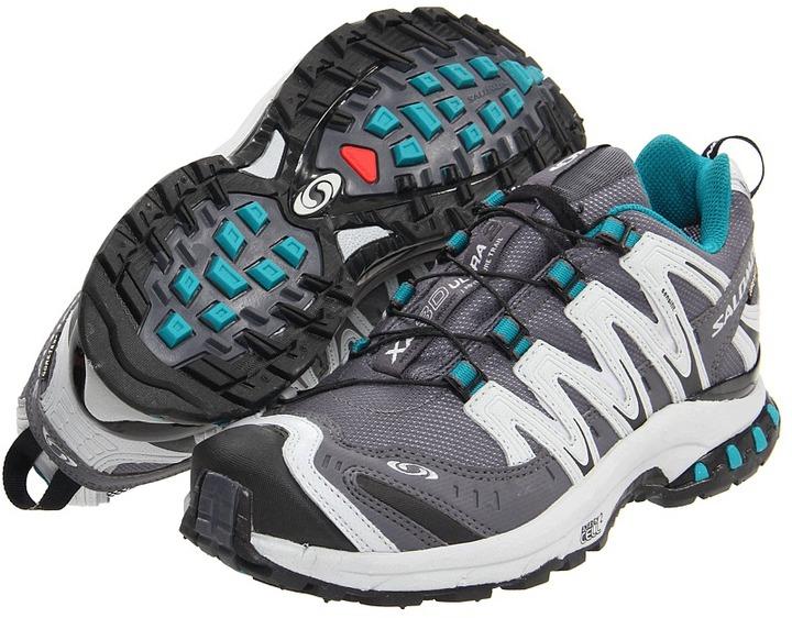 Salomon XA Pro 3D Ultra 2 GORE-TEX (Dark Cloud/Light Onix/Dark Bay Blue) - Footwear