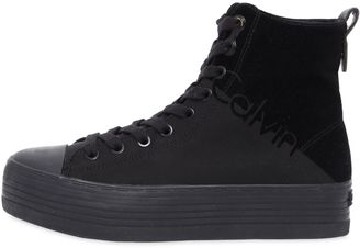40mm Zazah Nylon Platform Sneakers $131 thestylecure.com